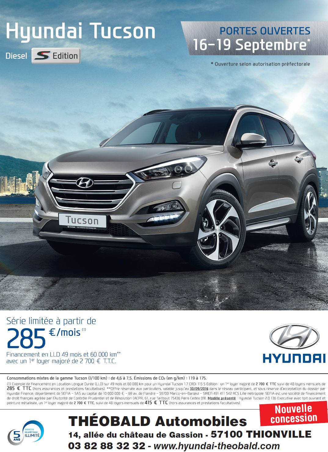 2016T3 OPO HYUNDAI tucson sEdition FULL